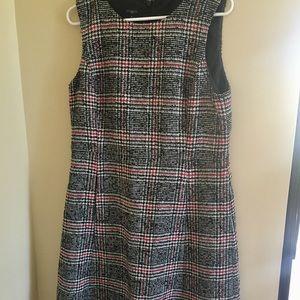 Talbots Wool & Polyester Plaid Dress
